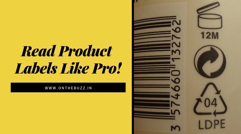 Understanding & Reading Product Labels