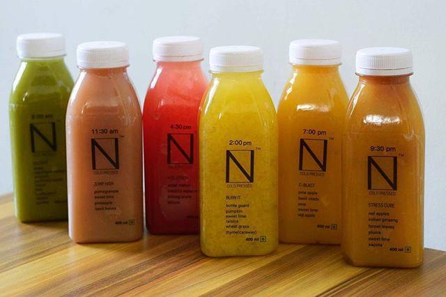 N Coldpressed Detox Juice