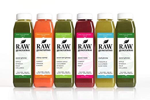 3-Day Skinny Cleanse by Raw Generation