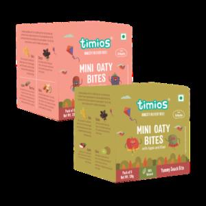 Timios mini oat bites