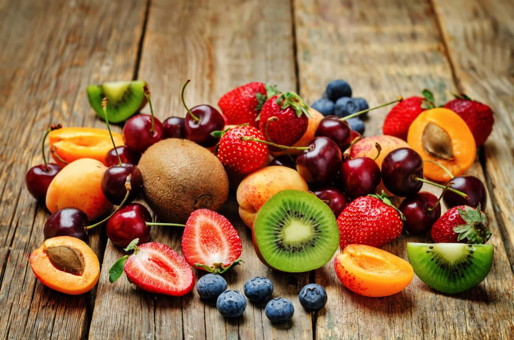Eat seasonal food and fruits