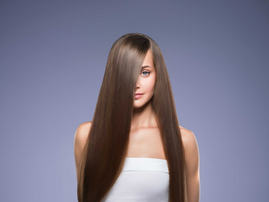 Anti-frizz hair