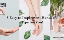 handcare tips
