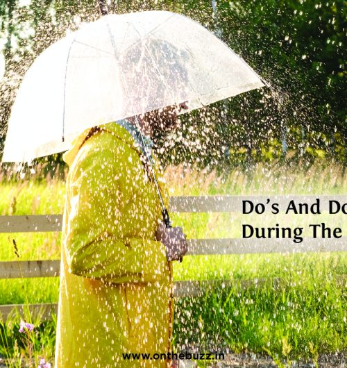 dos and donts in rainy season